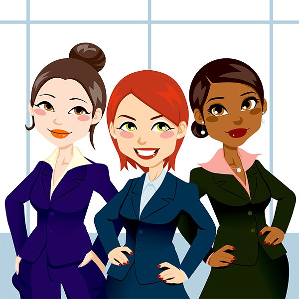 Confident Business Women