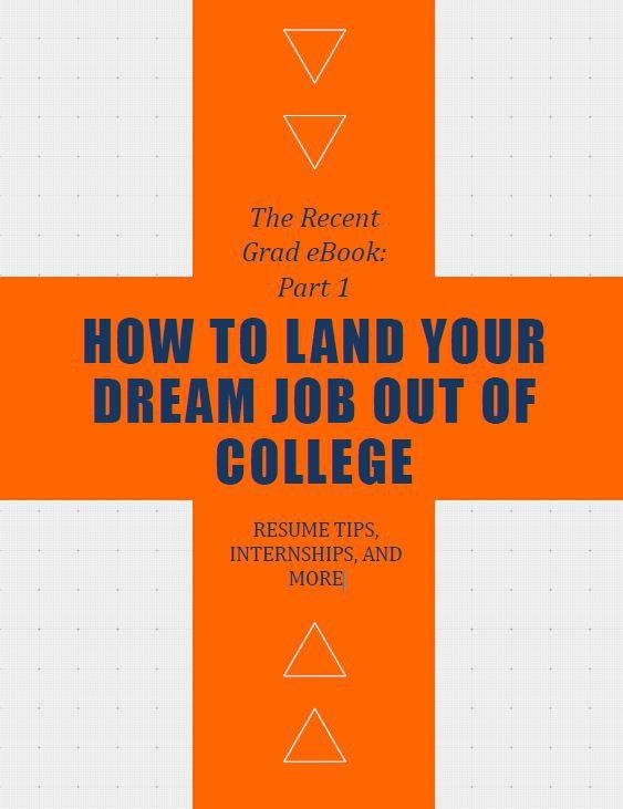 recent grad ebook cover